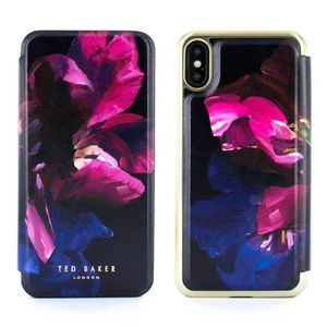 Ted Baker Floral folio case for the iPhone x Pink
